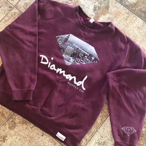 Diamond Supply Co Pullover Sweater